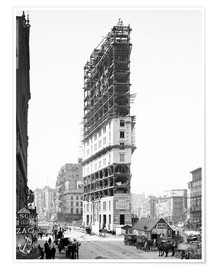 Premium poster Times Building around 1904