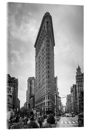 Acrylic print  Flatiron building, New York City - Axiom RF