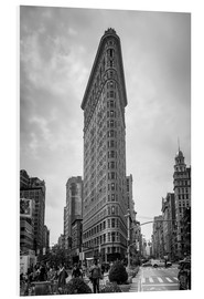Foam board print  Flatiron building, New York City - Axiom RF