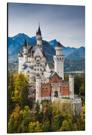 age fotostock - Germany, Bavaria, Hohenschwangau, Schloss Neuschwanstein castle, elevated view, fall.