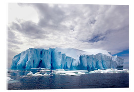 Acrylic print  Ice floe in the Southern Ocean - Cultura/Seb Oliver