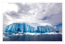 Premium poster Ice floe in the Southern Ocean