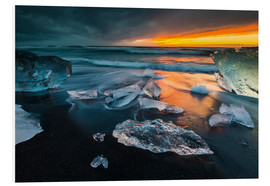 Forex  Ice chunks in the glacier lagoon - Arnold Schaffer