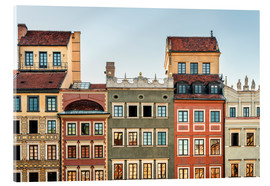 Acrylic print  Old town of Warsaw - Westend61