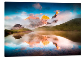 Acrylic glass  Pale di San Martino - Click Alps