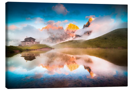 Canvas print  Pale di San Martino - Click Alps