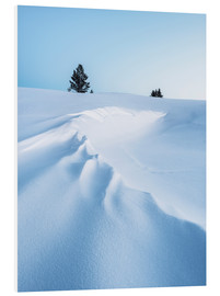 Foam board print  Winter landscape - Johner