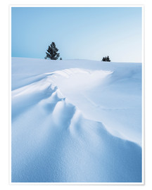Poster Winter landscape