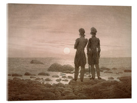 Acrylic print  Seascape - Caspar David Friedrich