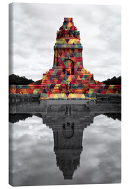 Canvas print  Monument to the battle of the nations Colour Pop