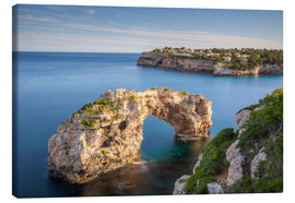 Canvas print  Es Pontàs, rock gate in Mallorca - Michael Valjak