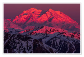 Premium poster Denali at sunrise