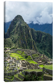 Canvas print  Machu Picchu - Ron Dahlquist