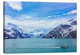 Canvas print  Johns Hopkins Glacier in Alaska - Alvis Upitis