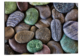 Alu-Dibond  Smooth beach stones - Don Paulson