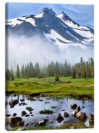 Canvas print  Mount Jefferson in the morning - Steve Terrill
