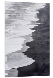 Martin Zwick - North Atlantic coast during the winter, Solheimasandur