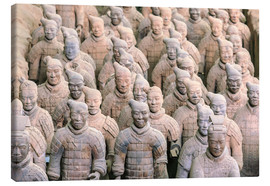 Canvas  Warrior of the Terracotta Army - Stuart Westmorland