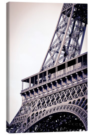 Canvas print  Detail of the Eiffel Tower - Russ Bishop