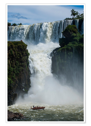 Premium poster Waterfalls of Iguazú