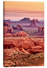 Canvas print  Monument valley - Ann Collins