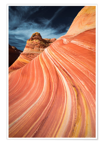 Premium poster The wave in Coyote Buttes