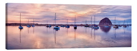 Canvas print  Harbor is in the sunset - Ann Collins