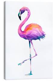 Canvas print  Flamingo 2 - Miss Coopers Lounge