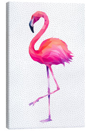 Canvas  Flamingo 1 - Miss Coopers Lounge