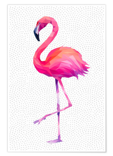 Flamingo 1 Posters And Prints Posterlounge Co Uk