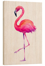 Wood  Flamingo 1 - Miss Coopers Lounge