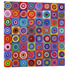 Forex  In Square Circle 64 after Kandinsky - David Newton