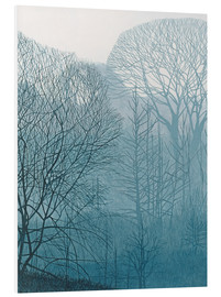 Foam board print  The Valley in the Mist - Annie Ovenden