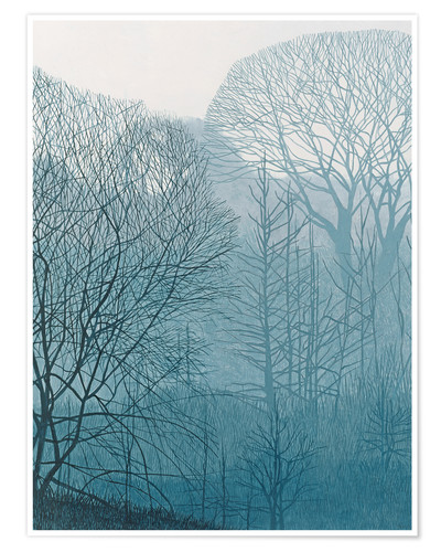 Premium poster The Valley in the Mist