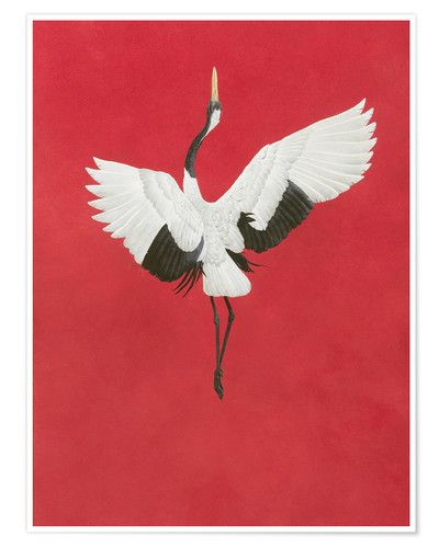 Premium poster The Dance-Red