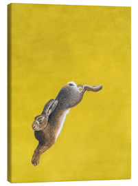 Canvas print  The Leap-Yellow - Tim Hayward