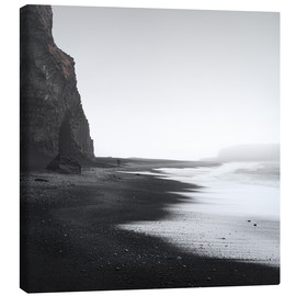 Canvas  Black beach in Iceland - Philipp Dase