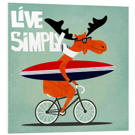 Foam board print  gaby jungkeit live simply - coico