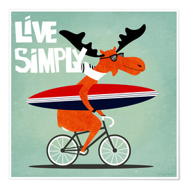 Poster gaby jungkeit live simply