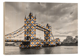 Wood  Tower Bridge Colour Pop
