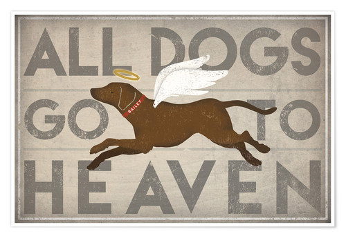 Premium poster All Dogs Go to Heaven II