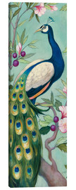 Canvas print  Pretty Peacock II - Julia Purinton