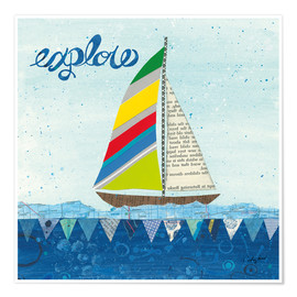 Premium poster Rainbow Spinnakers IV