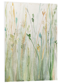 Foam board print  Spring Grasses II  - Avery Tillmon