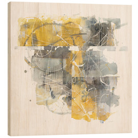 Wood print  Moving In and Out of Traffic II - Mike Schick