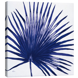 Canvas print  Welcome to Paradise XVI Indigo - Janelle Penner