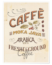 Premium poster Authentic Coffee VII