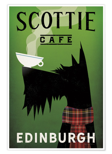 Premium poster Scottie Cafe