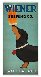 Premium poster Wiener Brewing Co