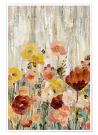 Premium poster Sprinkled Flowers II